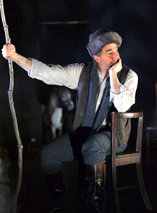 Sam Waterston as Pesotskyin The Black Monk(Photo © Joan Marcus)