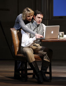 Lia Williams and Raul Esparza