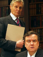 Sinon Williams and Richard McCabe