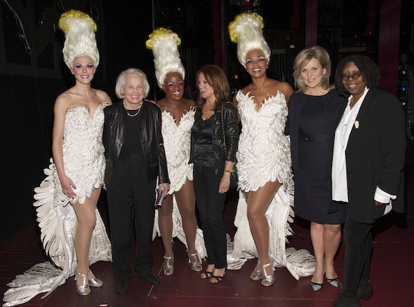 Ashley Spencer, Liz Smith, Anastacia McCleskey, Marlo Thomas, Jacqueline B. Arnold, Cynthia McFadden,and Whoopi Goldberg