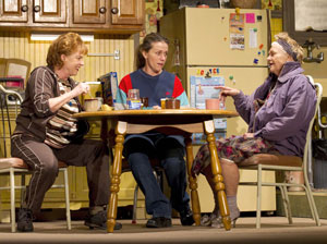 Becky Ann Baker, Frances McDormand, and Estelle Parsons