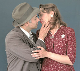 Ned Eisenberg and Elizabeth Marvel in Meshugah(Photo © Bill Strong)
