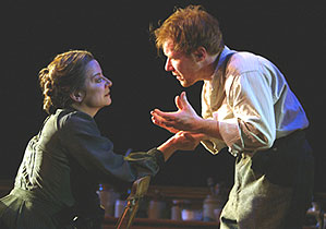 Theatre World Award winners Clare Higgins andJochum ten Haaf in Vincent in Brixton(Photo © Joan Marcus)