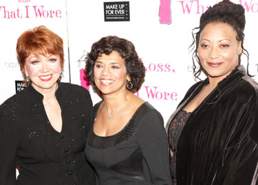 Donna McKechnie, Sonia Manzano, and Fredi Walker-Browne