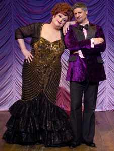 Harvey Fierstein and Christopher Sieber