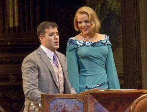 Joseph Kaiser and Renee Fleming in Capriccio