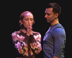 Helen Merino and Bryan Jarrett