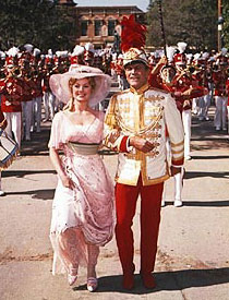 Shirley Jones and Robert Prestonin The Music Man