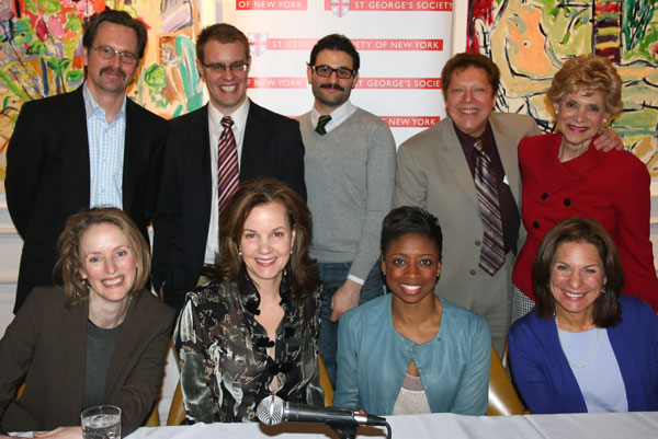 Back Row: Stephen Barker Turner, Carl Forsman, Arian Moayed, Robert R. Blume, and Margot Astrachan