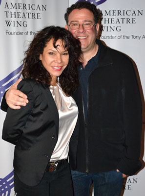 Daphne Rubin-Vega and Michael Greif