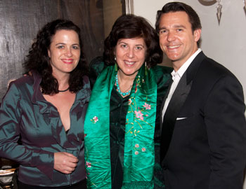 Julie Gunn, Francesca Zambello, and Nathan Gunn