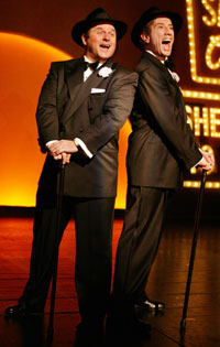 Jason Alexander and Martin Shortin The Producers(Photo © Paul Kolnik)
