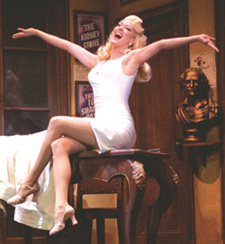 Angie Schworer as Ulla(Photo © Paul Kolnik)