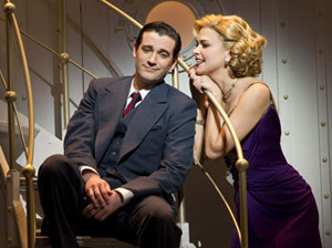 Colin Donnell and Sutton Foster in Anything Goes