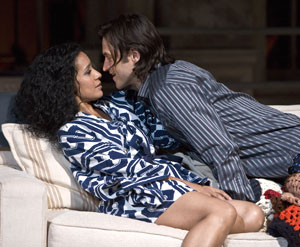 Zabryna Guevara and Adam Rothenberg
