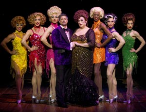 Christopher Sieber, Harvey Fierstein and company