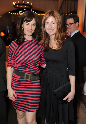 Maggie Siff and Dana Delany