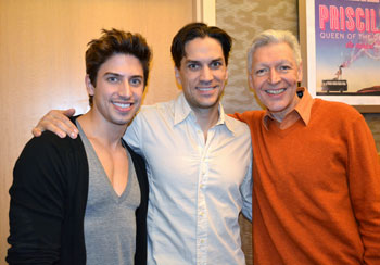 Nick Adams, Will Swenson, Tony Sheldon