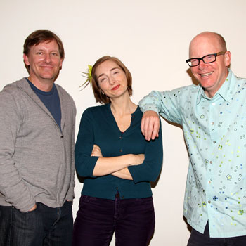 John Langs, Joy Gregory, and Gunnar Madsen