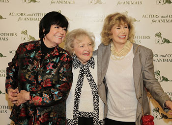 JoAnne Worley, Betty White and Loretta Swit