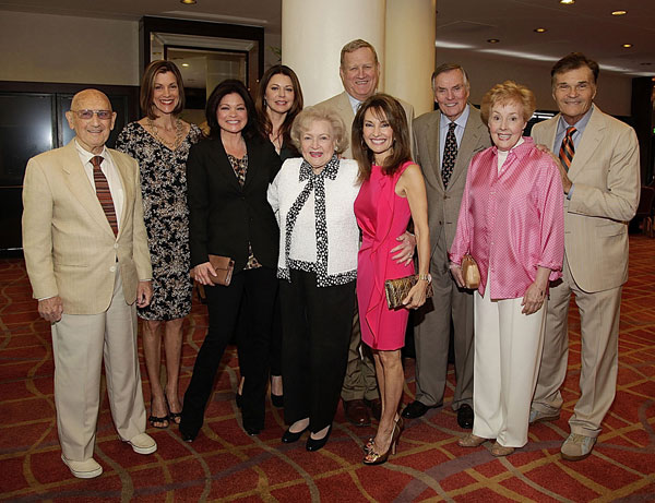 Bob Stewart, Wendie Malick, Valerie Bertinelli, Jane Leeves, Betty White, Ken Howard, Susan Lucci, Peter Marshal, Georgia Engel and Fred Willard