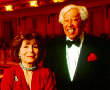 Betty Comden with her writing partner,the late, great Adolph Green