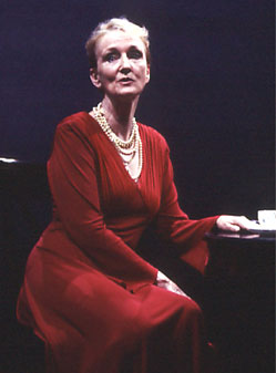 Kathleen Chalfant in Savannah Bay(Photo © Dixie Sheridan)