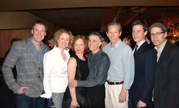 Brian Hutchison, Lisa Banes, Mariann Mayberry, David Greenspan, Stephen Bogardus, Michael Izquierdo, and Tim Hopper
