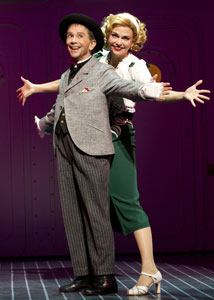 Joel Grey and Sutton Foster in Anything Goes (© Joan Marcus)