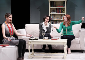 Ashley Austin Morris, Barbara Walsh, and