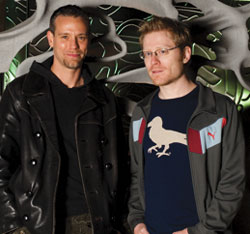 Adam Pascal and Anthony Rapp (Courtesy Bay Street Theatre)
