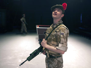 A scene from Black Watch