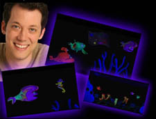 John Tartaglia in a PR shot for Imaginocean