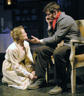 Angel Reed and Gareth Saxe in The Daughter-in-Law(Photo © Richard Termine)