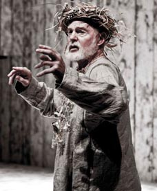 Sir Derek Jacobi in King Lear