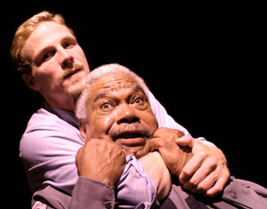 Jason Wiles and Henry Afro-Bradley in Safe(Photo © Manu Boyer)