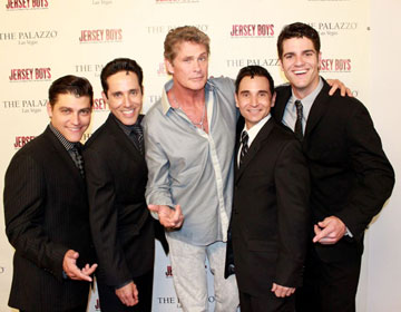 Deven May, Jeff Leibow, David Hasselhoff, Travis Cloer,