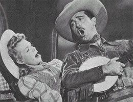 Good News stars Alice Faye and John Paynein the 1943 film Hello, Frisco, Hello