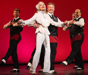A scene from Carol Channing: Larger Than Life (© Peter James Zielinski)