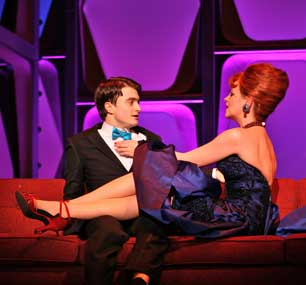 Daniel Radcliffe and Tammy Blanchard in