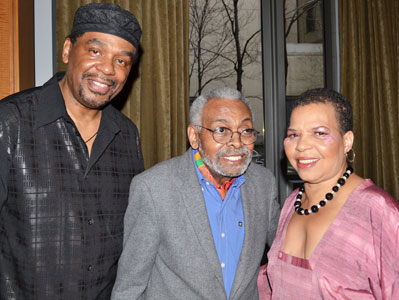 Imohotep Gary Bird, Amiri Baraka, and Ntozake Shange 