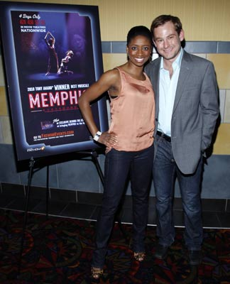 Montego Glover and Chad Kimball