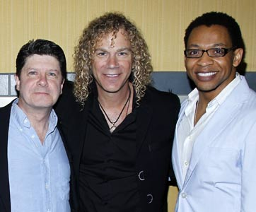 Michael McGrath, David Bryan, and Derrick Baskin