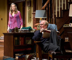 Amy Morton and Tracy Letts in Who's Afraid of Virginia Woolf? (© Michael Brosilow)
