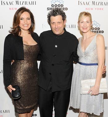 Mariska Hargitay, Isaac Mizrahi, and Kelly Rutherford