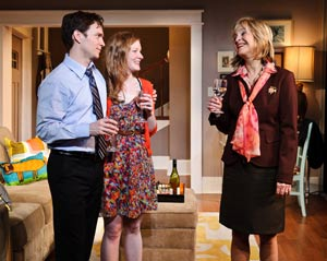 Chad Hoeppner, Wrenn Schmidt, and Jill Eikenberry
