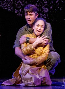 Eric Kunze and Melinda Chua