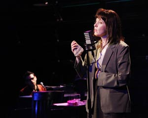 Joe Iconis and Suzanne Vega in
