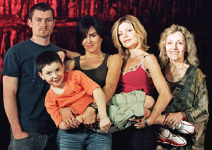 James Badge Dale, Cooper Pillot, Gretchen Egolf, Polly