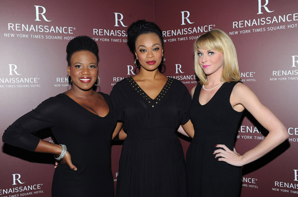 Anastacia McCleskey, Jacqueline B. Arnold and Ashley Spencer